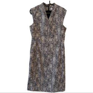 MM. La Fleur  v-neck mini dress v-neck mini dress
